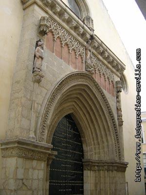 Seville, San Esteban Church