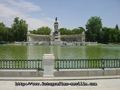 Madrid, the Retiro Park