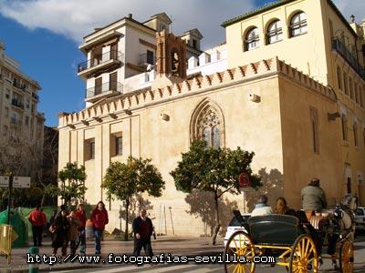 Seville, the Chapel of Santa Maria de Jesus
