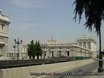 Madrid, the Royal Palace