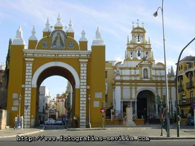 Macarena Gate and Basilica, Seville