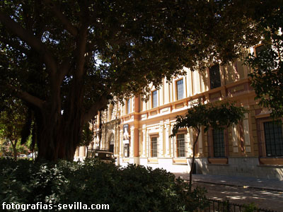 Photo: Seville, Museum Square