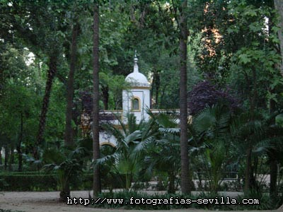 The Maria Luisa's Park of Seville, Spain