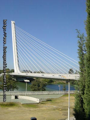 Seville, Alamillo Bridge