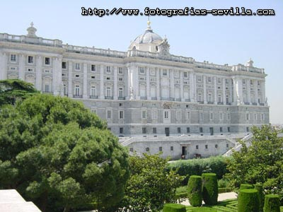 Madrid, the Royal Palace and Gardens
