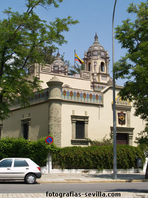 Photo: Colombia pavilion of the Ibero-American Exhibition of 1929 in Seville