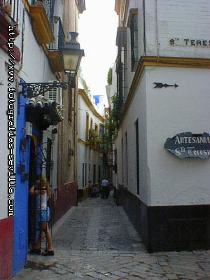 Seville, Santa Cruz Neighbourhood