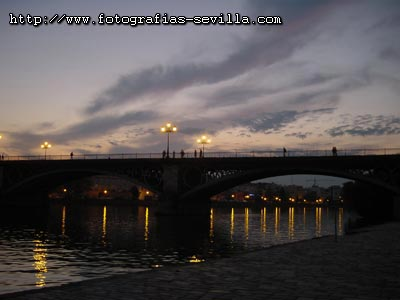 Seville, Triana's Bridge (Puente de Triana)