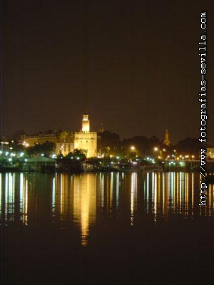 Seville, the Tower of Gold (Torre del Oro)