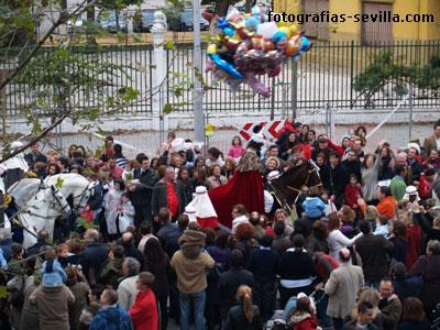 Cabalgata de Reyes de Sevilla