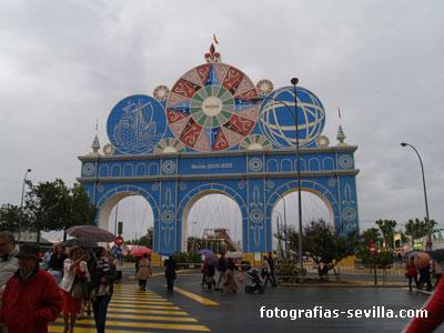 Portada 2011 de la Feria de abril de Sevilla