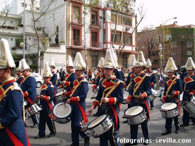 Banda de música de la Semana Santa de Sevilla
