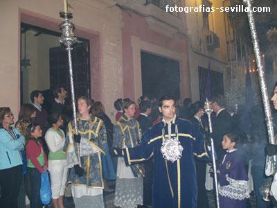 Acólitos de la Semana Santa de Sevilla
