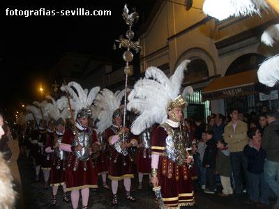 Centuria Romana de la Macarena, los Armaos de la Macarena Sevilla