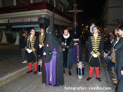 El Muñidor de la Hermandad de la Mortaja, Semana Santa de Sevilla