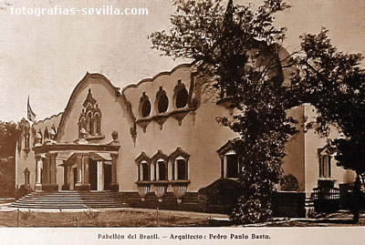 Photo: Brasil pavilion of the Ibero-American Exhibition of 1929 in Seville